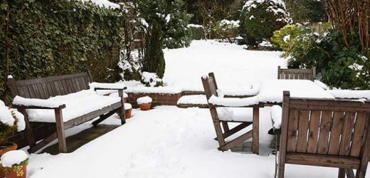 How you can Safeguard Garden Furniture During Wintertime