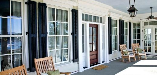 Wooden Exterior Shutter Types and styles