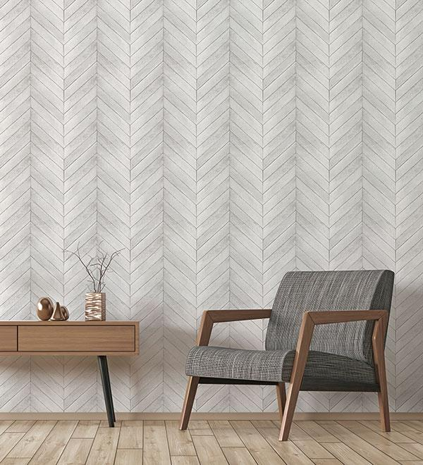 Herringbone Peel And Stick Wallpaper For Your Home